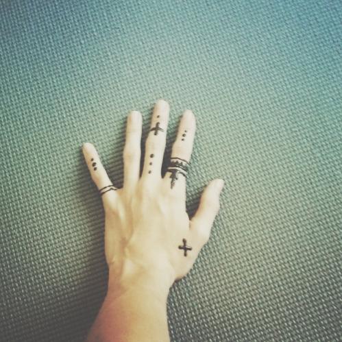 Henna Practice!