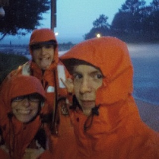 July 4th we got rained on during our Auxiliary patrol!