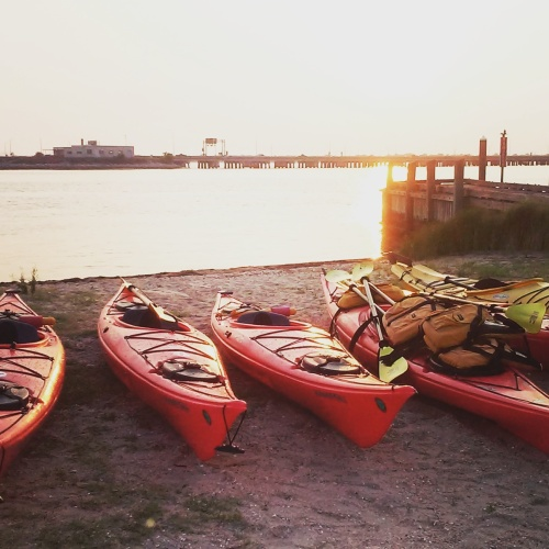 Kayaking with my Coast Guard Auxiliary flotilla